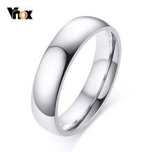 Vnox классический 5 мм Длина браслета кольцо в стиле casual