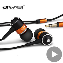 Awei Stereo Wired Headphone Headset In-Ear Earphone For Your