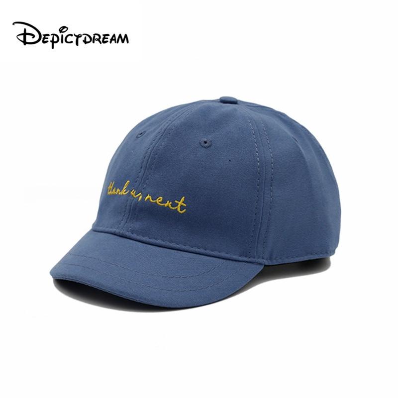 Fashion Letter Embroidered Cotton Hip Hop Hat Flat Eave Adjustable Baseball Cap