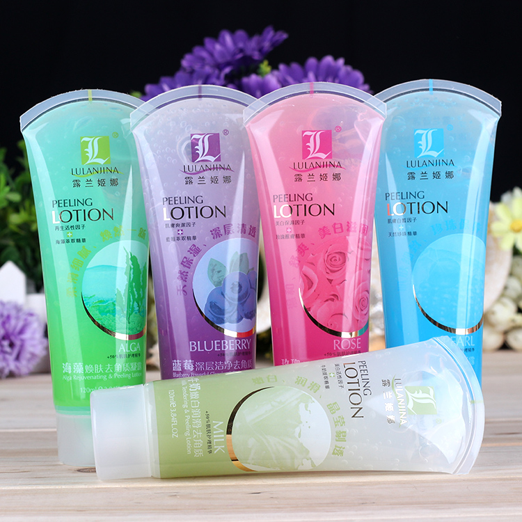 Exfoliating Gel Face Scrub Body Peeling Deep Clean