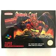 Demons Crest met doos voor pal 16bit game cartidge EU Versie
