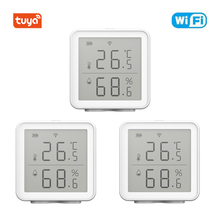 Tuya Smart Life Temperature And Humidity Sensor Indoor Hygrometer Thermometer With LCD