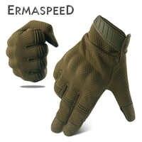 Atmungsaktive Motorrad Handschuhe Tactical Military Racing Reiten Handschuhe Winter Motocross Enduro ATV Touch Screen Männer Biker Handschuhe