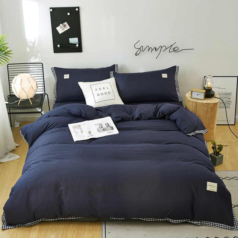 Neue Zimmer dekoration volle königin könig größe bettwäsche set einzel-/doppelbett-Weihnachten geschenk Weiche komfortable bettwäsche-sets