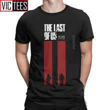 The Last Of Us T Shirt Men's 100 Percent Cotton Awesome T-Shirt Ellie Fireflies Joel Tlou Game Clothes Oversized