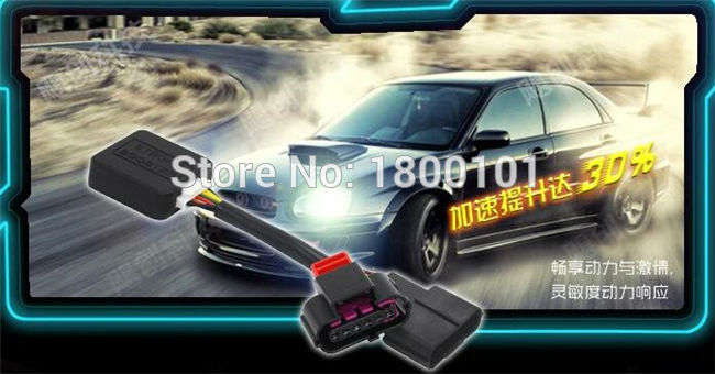 Footpedal Sprint Booster Kuat, bagian mobil Throttle ECU Pengendali - Suku cadang mobil - Foto 2