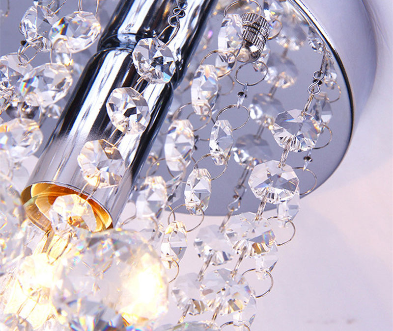 Lâmpada do teto de cristal do corredor