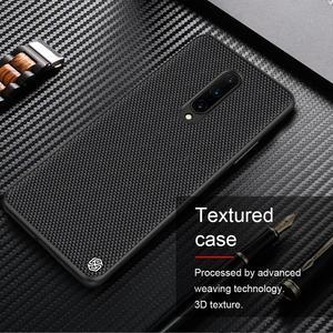 Image 3 - Funda para Oneplus 8 7T 7 Pro 6T NILLKIN texturizada de fibra de nailon de lujo duradera antideslizante cubierta completa para One Plus 8 7T 7 Pro 6T