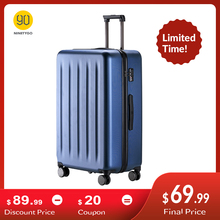 NINETYGO 90FUN PC Suitcase 20 inch Colorful Rolling Luggage Lightweight Carry on Spinner Wheel Travel TSA lock women men