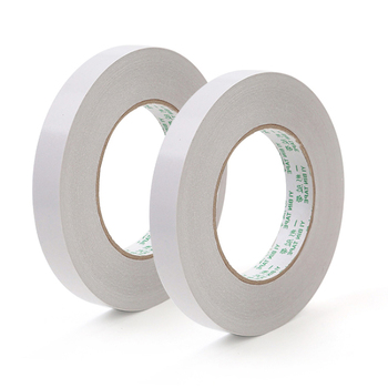 8M White Double Sided Adhesive Tape Paper Strong Ultra-thin Cotton Double-sided Scotch Tape 20 sheets lot double sided tissue tape strong adhesive good for hardcover photo albums brochures menu folder etc