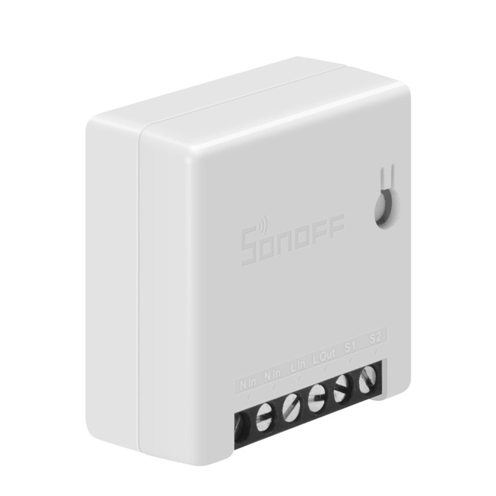 Mini Smart Switch DIY Small Two Way Remote Control WIFI Switch Control By Ewelink APP Work With With Alexa Google Home