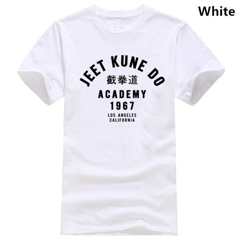 Custom Men/'s Black T-Shirt Tee Jeet Kune Do Academy