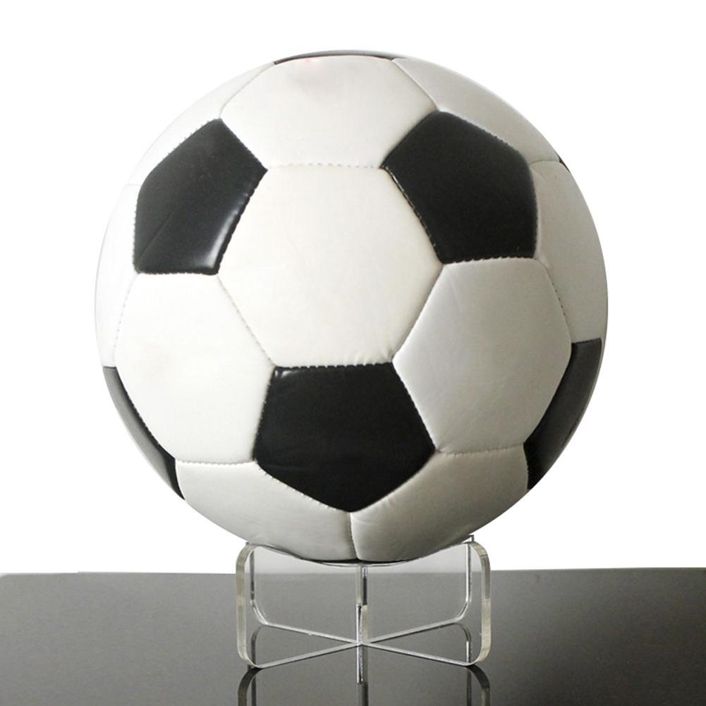Espositore multifunzione in acrilico Bowling Rugby pallacanestro supporto per staffa per pallone da calcio Base di supporto per Rack trasparente