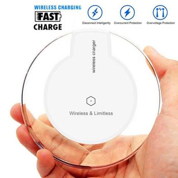 10W Qi Wireless Charger Pad for Samsung Galaxy S7 S6 S10 iPhone XR X Nokia Nexus 4 Mobile Phone Charging Adapter 1