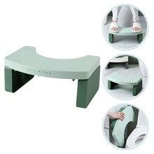 1Pc Simple Toilet Stool Kids Household Footstool for Bathroom (Green)