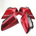 SCJYRXS For Golf MK7 2013-2017 Red LED Flashing Taillights DRL+Brake+Park+Signal Lights 5G0945207 5G0945208 5G0945307 5G0945308