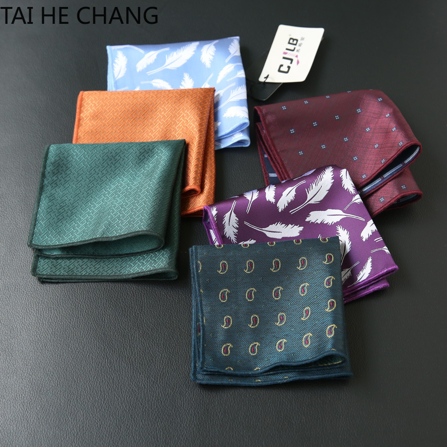 10pcs/lot 22colors Can Choice New Korean Fashion Designer High Quality Pocket Square Handkerchief Men's Business Suit Pocket