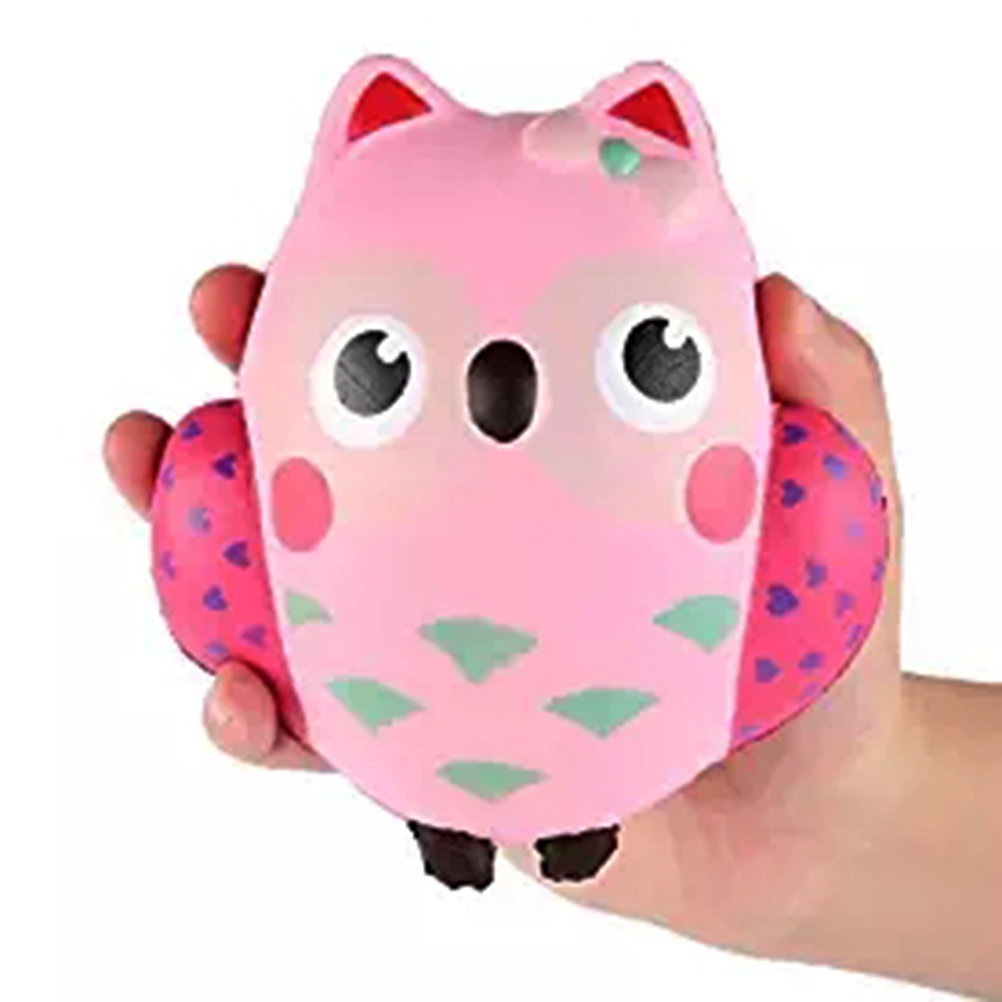 Soft Rising Jumbo Squishy Antistress Kawaii Cartoon Owl Scented Squeeze Kids Squishys Toy Stress Relief Decompression Toys #40