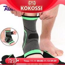 AOLIKES tobillera deportiva 3D, 1 Uds., Protector de compresión para tobillo, almohadilla de soporte, correa de nailon elástico, soporte para baloncesto y fútbol