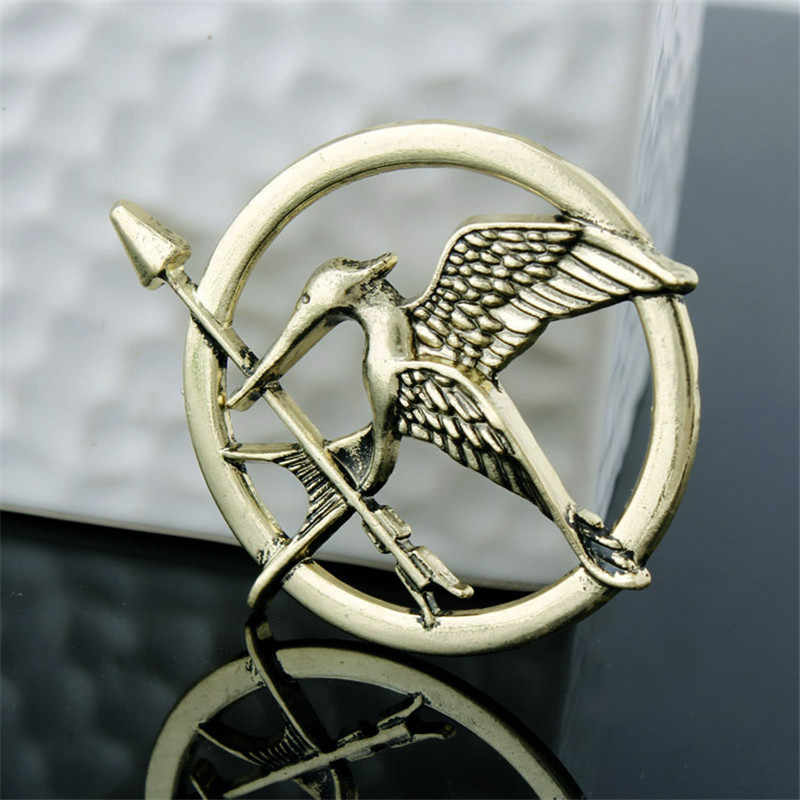 Zrm Fashion Trendi Perhiasan The Hunger Games Populer Gaya Vintage Burung Bros Film Perhiasan Cosplay Hadiah