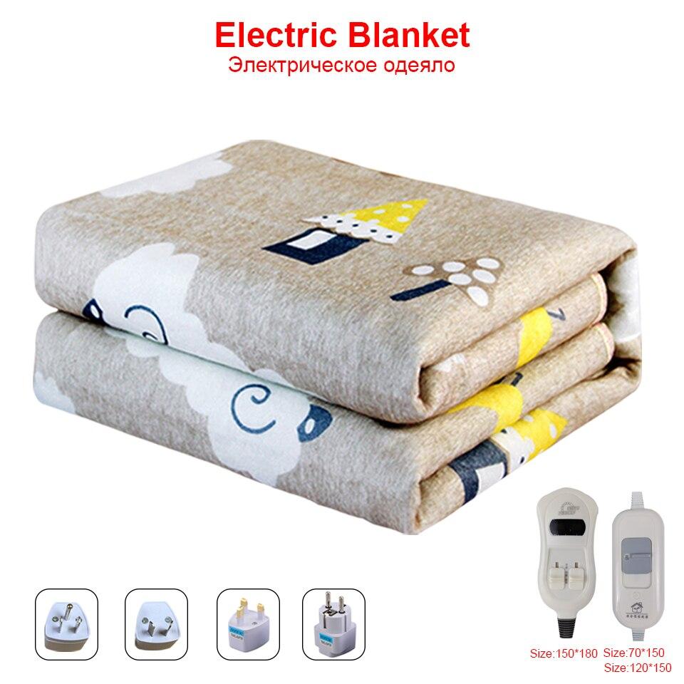 220 В электрическое одеяло Подогрев теплый двойной корпус теплый ковер обогреватель коврик с подогревом Электрическое одеяло Манта зимний подогреваемый матрас|Электрические нагреватели|   | АлиЭкспресс