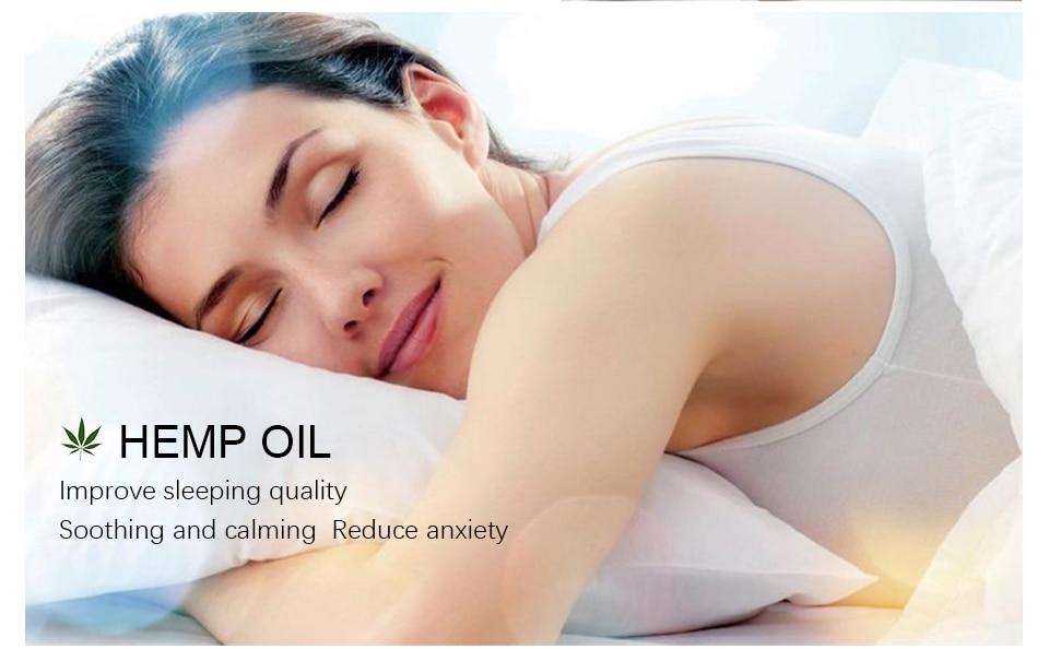 30ml 100% Organic Hemp CBD Oil 2000mg Bio-active Hemp Seeds Oil Extract
