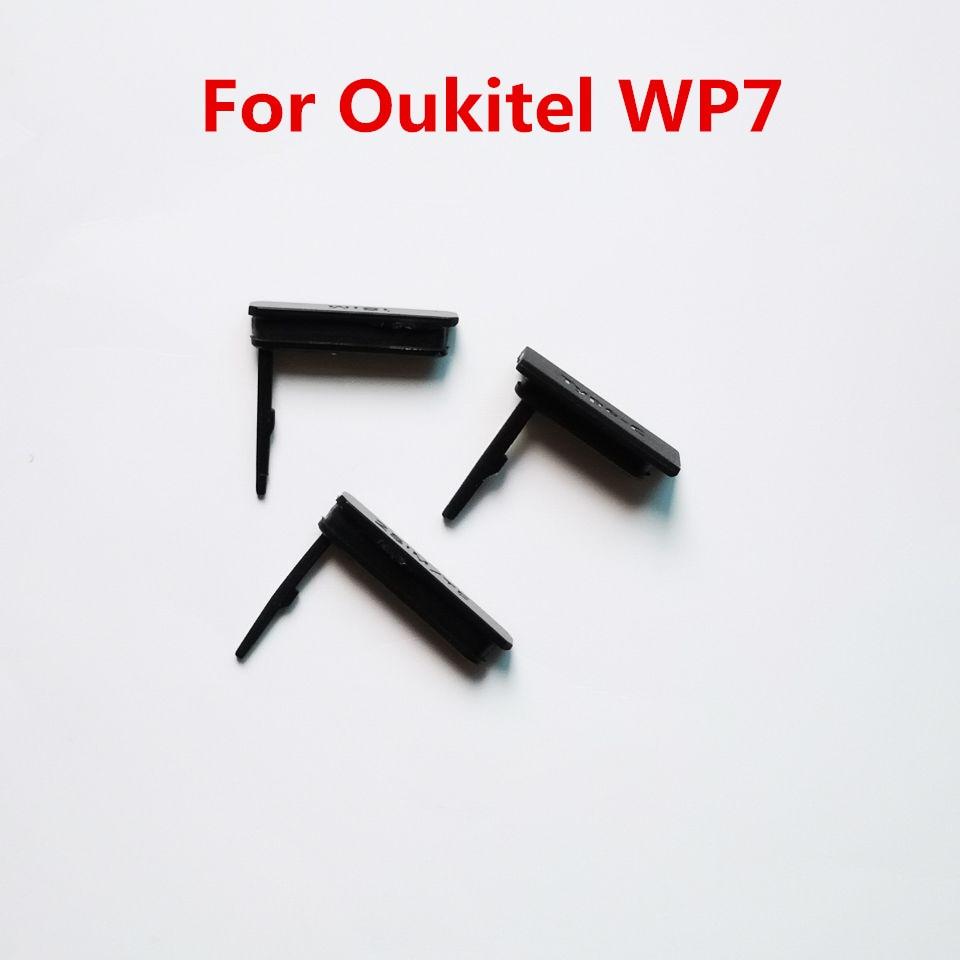 Новый оригинальный Противопыльный разъем для зарядки Sim/TF Type-C для Oukitel WP7 чехол для сотового телефона защитные детали для Oukitel WP7 Sim-разъем