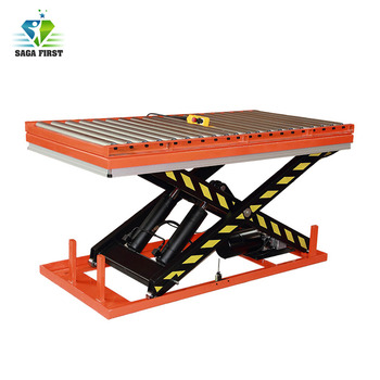 Qingdao Sinofirst Hot Sale Customized Roller Scissor Lift Table