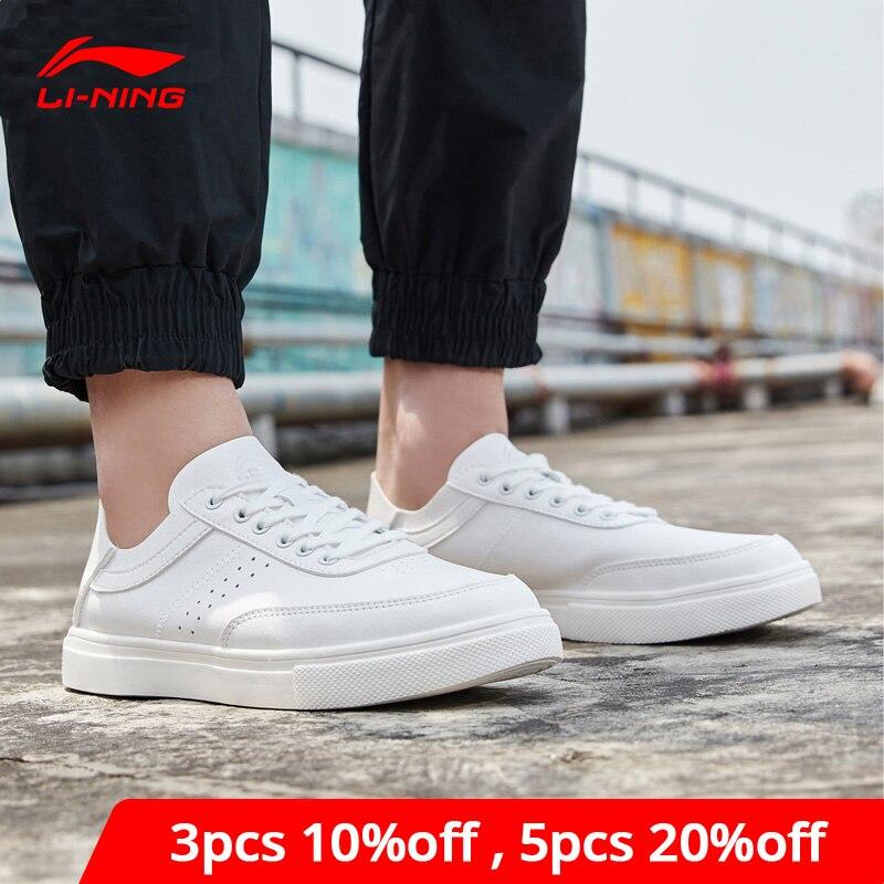 Li-Ning Men REMODEL Lifestyle Shoes Classic Leisure Sneakers Foldable Heel Slip-on LiNing Li Ning Sport Shoes AGCP027 YXB293