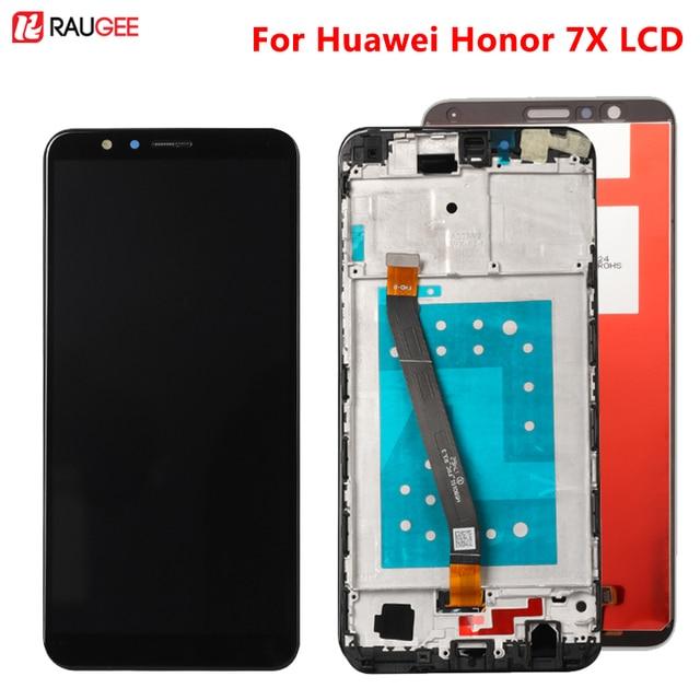 Huawei 社の名誉 7X lcd ディスプレイタッチスクリーンデジタイザアセンブリの交換 huawei 社 Honor7X BND AL10 BND L21/L22