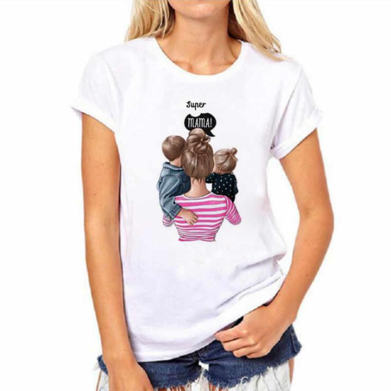 تي شيرت النساء محب عارضة ضياء دي لا مادري المحملة الجرافيك الجمالية المتناثرة أعلى هدية عيد الأم الإناث التي شيرت الملابس موهير