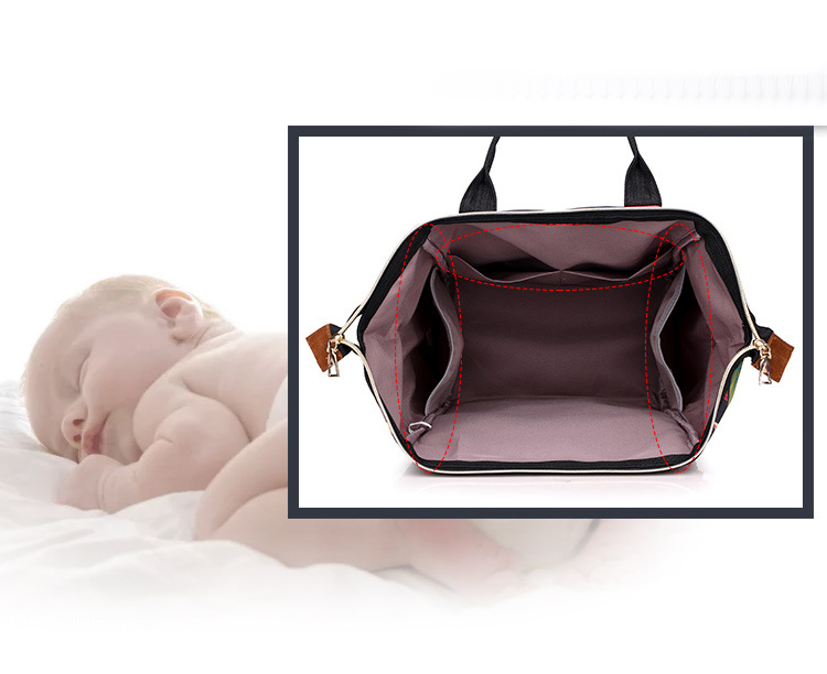 Women's  Fashion Bag Mummy Maternity Nappy Bag Large Capacity Nappy Bag Travel Backpack Nursing Bag For Baby Care