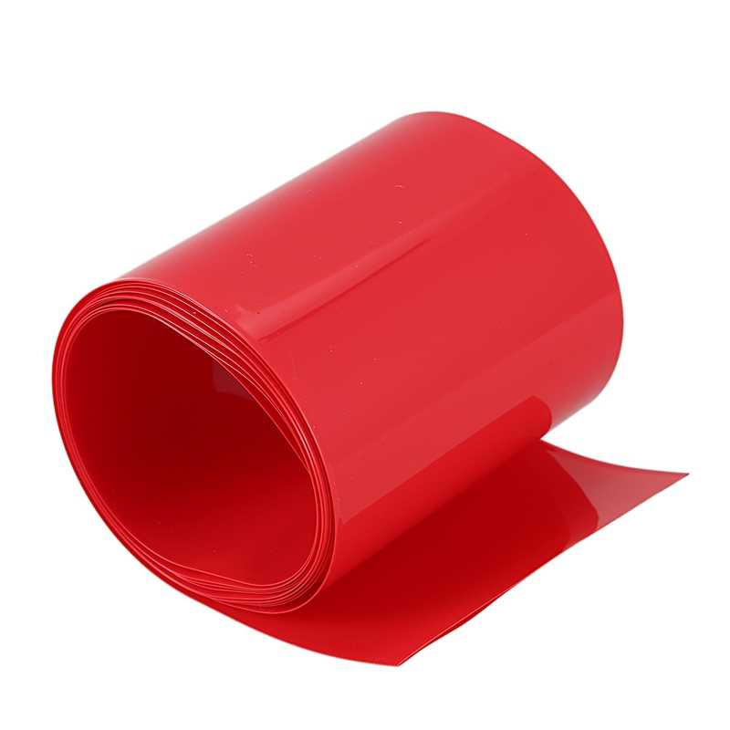 2Meters 85mm PVC heat shrink tube red for 18650 battery pack