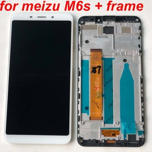 Image 2 - AAA Best Original 5.7 For Meizu M6S Meilan S6 Mblu S6 M712H M712Q LCD Screen Display+Touch Panel Digitizer Frame For M6s Mblu S6