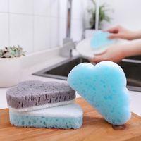 Cloud Shape Sponge Brush Household Cleaning Tools Decontamination Magic Rubbing Sponge Brush Environmentally Friendly 1Pc