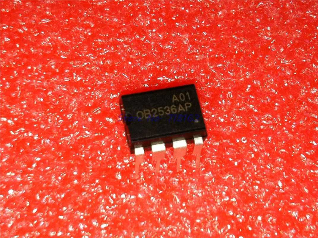 5PCS X OB2536AP DIP-8 On-Bright