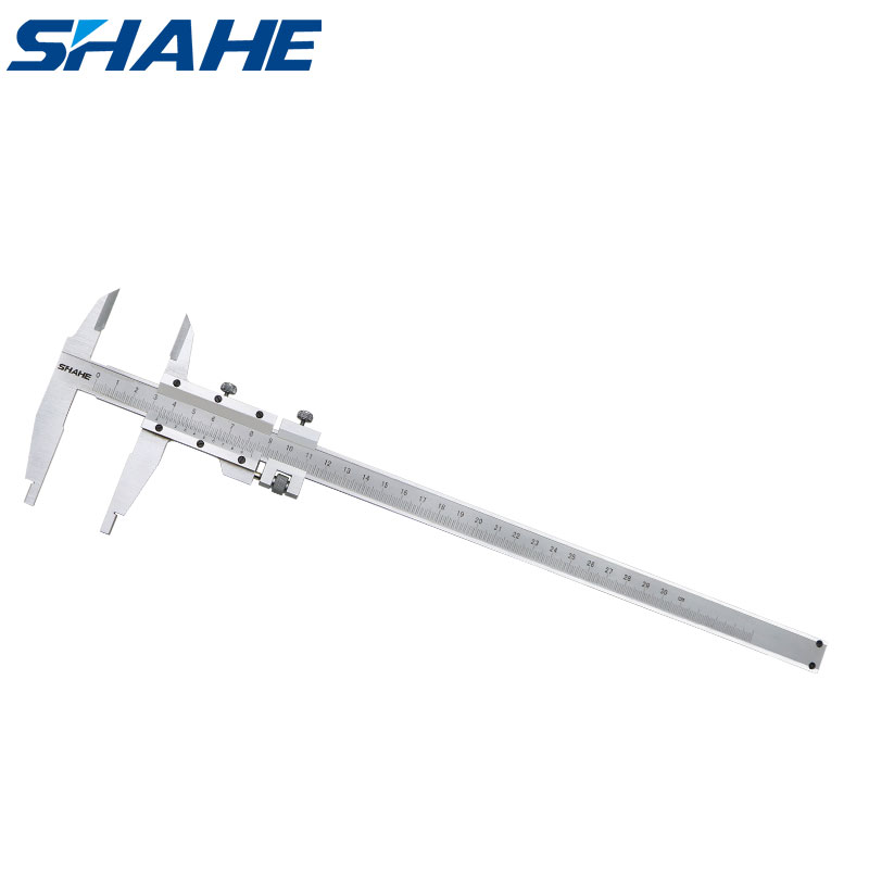 SHAHE Vernier Calipers Stainless Steel 300 mm Measuring Instrument Calipers Micrometer 5115-300