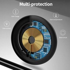 Image 2 - 15W Tề Nhanh Sạc Sạc Nhanh Không Dây USB C QC 3.0 Ga Cho Iphone Samsung S9 Xiaomi Huawei sạc Miếng Lót