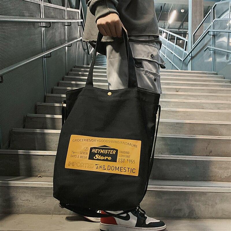 Tidog Korean-Style Japanese-Style Simple Student Shoulder Tote Bag