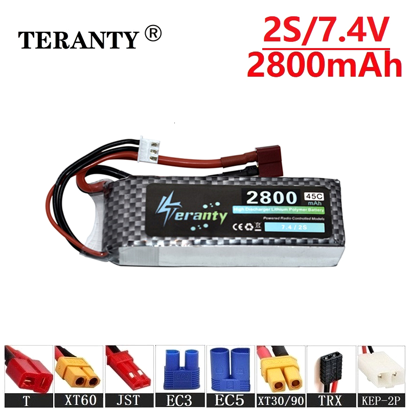 Collision avoidance 7.4v <font><b>2800maH</b></font> 45C <font><b>Lipo</b></font> Batterry For RC Drone Boat Quodcopter Spare Part <font><b>2s</b></font> 2200mah 7.4v Rechargeable battery image