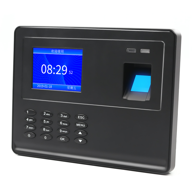 Biometric Fingerprint Attendance Machine TFT LCD Display USB Fingerprint Attendance System Time Clock Employee Checking-In Recor
