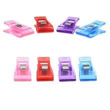 10 sztuk szycia Clip3.6 * 1.8cm Multicolor plastikowe klipy odzieżowe Hemming przyrządy do szycia akcesoria do szycia szycia DIY Patchwork klip