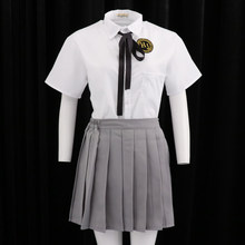Japanese School Girls Uniform Anime Sailor Suit Lolita School Uniform for Sexy Women and Young Girls, Size XXXL(China)