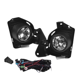 1 Set of 12V Fog Lamp Assembly with LED Light, 3200K Yellow Color Temperature Fog Lamp Suitable for 2014 Toyota Hiace Fog Lamp A
