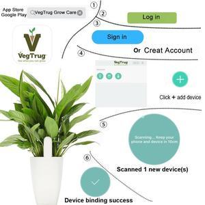 Image 4 - Nouvelle version internationale Original fleur moniteur plantes sol eau lumière testeur intelligent pour flore capteur jardin