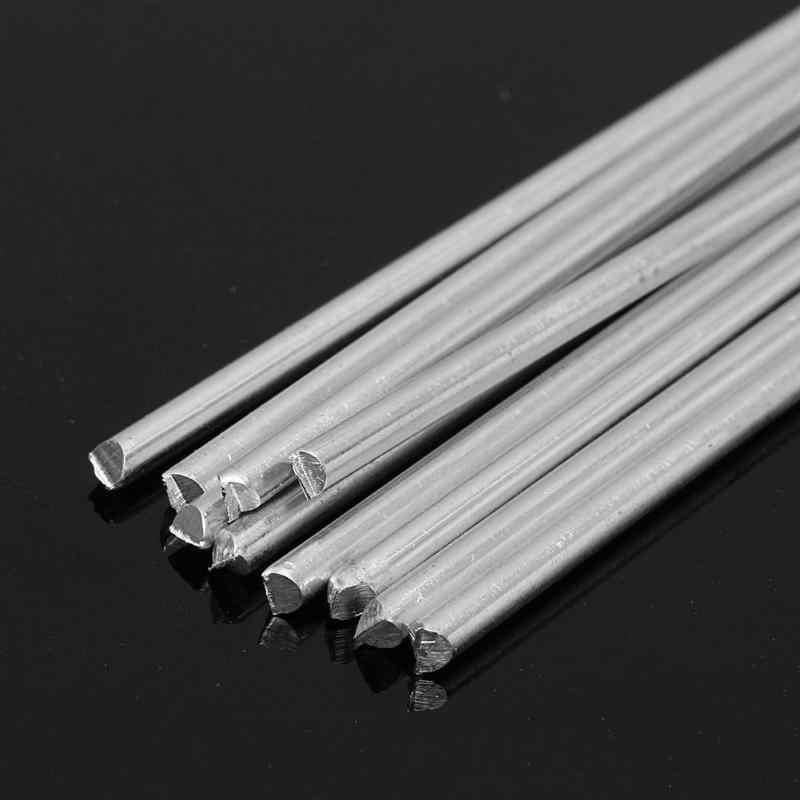 5pcs Lassen Staven Aluminium Solderen Draad Zilver Lage Temperatuur Soldeer Bar Fabriek Elektrode Gereedschap