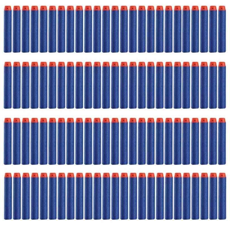 100 יח'\סט רך כדורים עגול עבור Bullet מתנה עלית קצף חג המולד עבור N-strike אוויר אקדח מסיבת קישוט ראש blasters