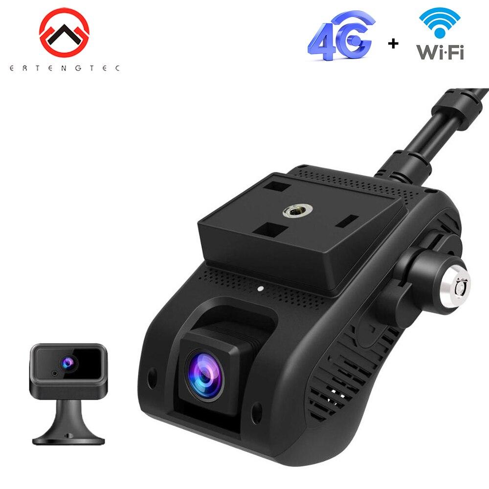 Jc400 câmera do carro gravador aivision hd 1080 p traço camra wi fi monitoramento remoto streaming ao vivo carro câmera 4g gps tracker para carro
