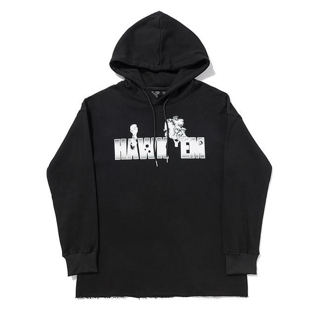 VLONE Co-Branded HAWK EM Hoodies 1