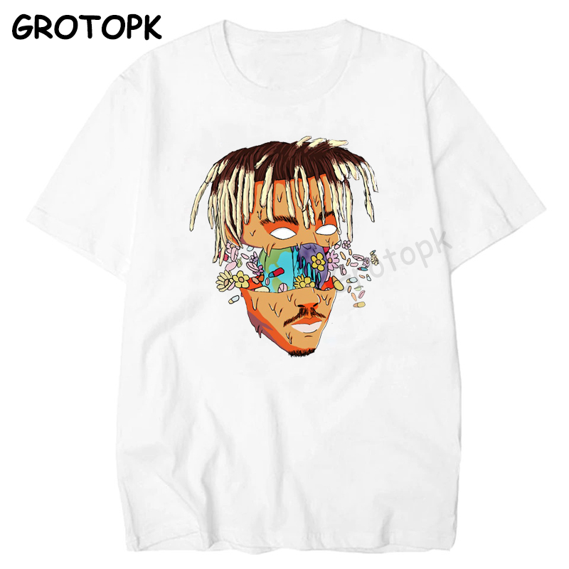 RIP JUICE WRLD 999 Rest In Heaven T Shirt Short Sleeve Hip Hop Men T Shirt Rapper Xxxtentacion Mens Clothing Camisetas Hombre